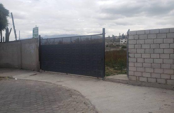 Terreno de venta en Calderon Marianitas ideal proyecto Inmobiliario