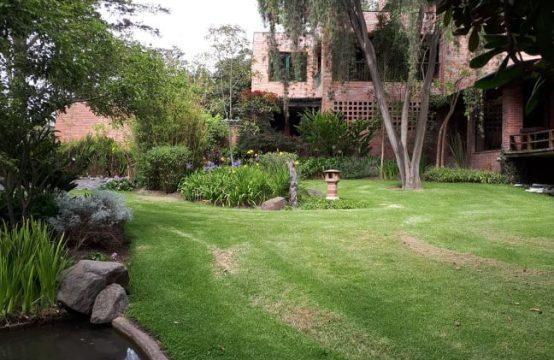 Quinta de venta en Tumbaco amplia area verde y arboles