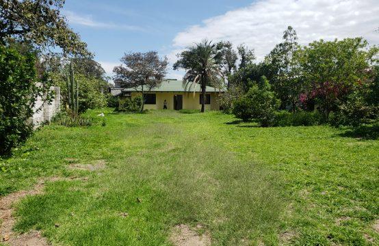 Casa de venta en Tumbaco una sola planta 985m2 de Terreno