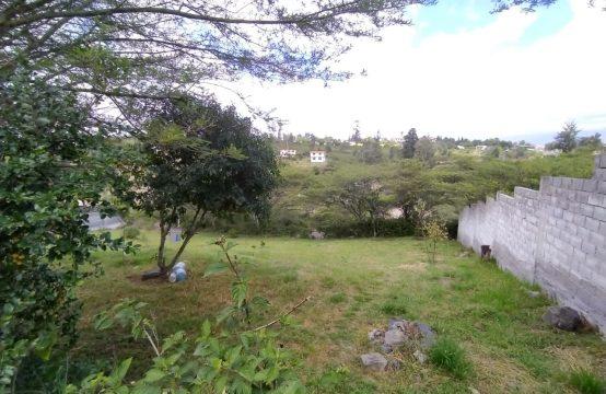 Terreno de venta en Tumbaco