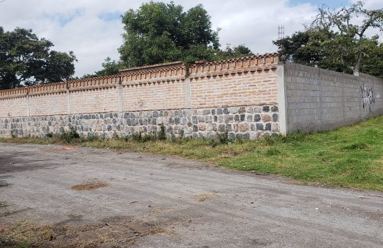 Terreno en venta Tumbaco 1547m2 sector Churuloma
