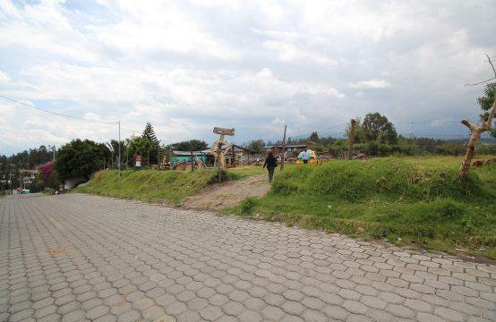Terreno de venta en Tumbaco 4000m2 Vista