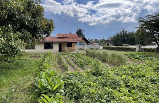 Terreno de venta para quinta en Yaruqui 2 hectareas